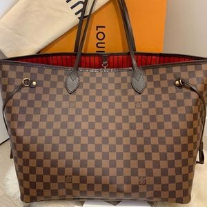 Authentic Louis Vuitton Never-Full Damier GM